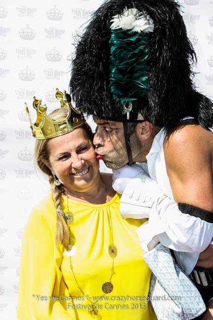 67 - Yes we Cannes - Festival de Cannes 2015 - Crazy Horse Guard - 22052015 (c) Benjamin Dubuis 2015