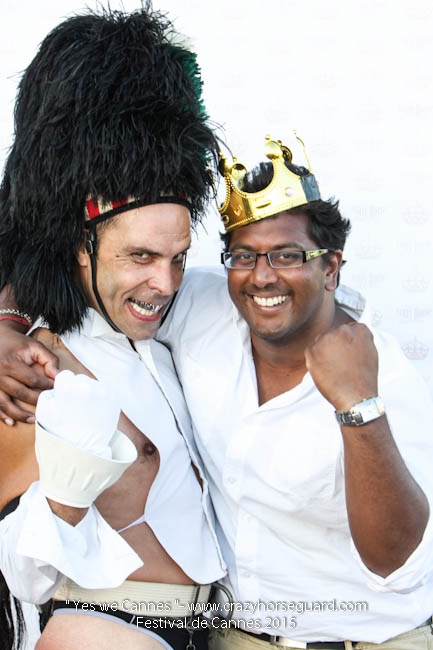 68 - Yes we Cannes - Festival de Cannes 2015 - Crazy Horse Guard - (c) Benjamin Dubuis 2015