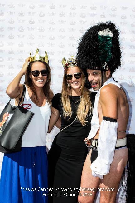 69 - Yes we Cannes - Festival de Cannes 2015 - Crazy Horse Guard - 22052015 (c) Benjamin Dubuis 2015