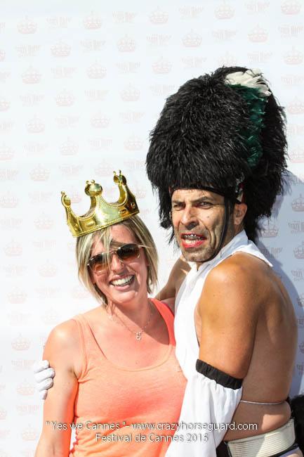 71 - Yes we Cannes - Festival de Cannes 2015 - Crazy Horse Guard - 22052015 (c) Benjamin Dubuis 2015