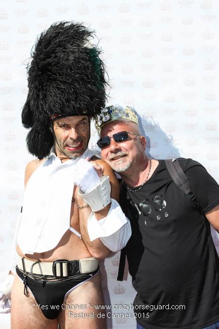 72 - Yes we Cannes - Festival de Cannes 2015 - Crazy Horse Guard - 22052015 (c) Benjamin Dubuis 2015