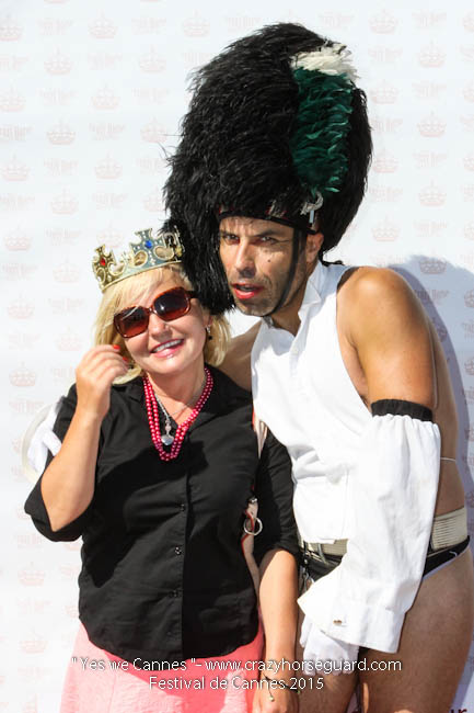 73 - Yes we Cannes - Festival de Cannes 2015 - Crazy Horse Guard - 22052015 (c) Benjamin Dubuis 2015