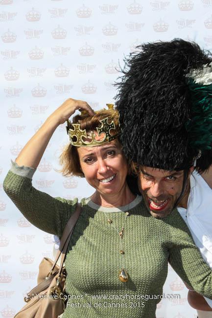 74 - Yes we Cannes - Festival de Cannes 2015 - Crazy Horse Guard - 22052015 (c) Benjamin Dubuis 2015