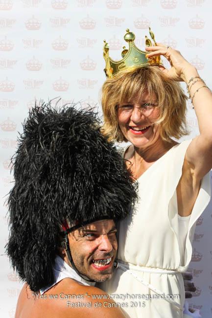 75 - Yes we Cannes - Festival de Cannes 2015 - Crazy Horse Guard - 22052015 (c) Benjamin Dubuis 2015