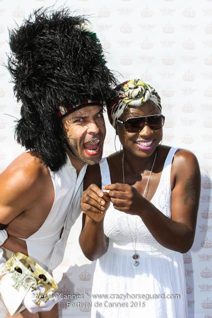 76 - Yes we Cannes - Festival de Cannes 2015 - Crazy Horse Guard - 22052015 (c) Benjamin Dubuis 2015