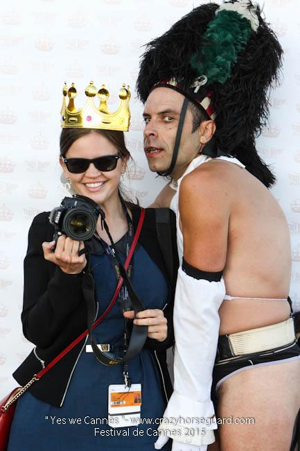 79 - Yes we Cannes - Festival de Cannes 2015 - Crazy Horse Guard - (c) Benjamin Dubuis 2015