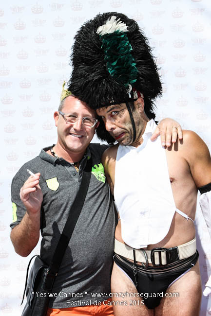 8 - Yes we Cannes - Festival de Cannes 2015 - Crazy Horse Guard - 22052015 (c) Benjamin Dubuis 2015