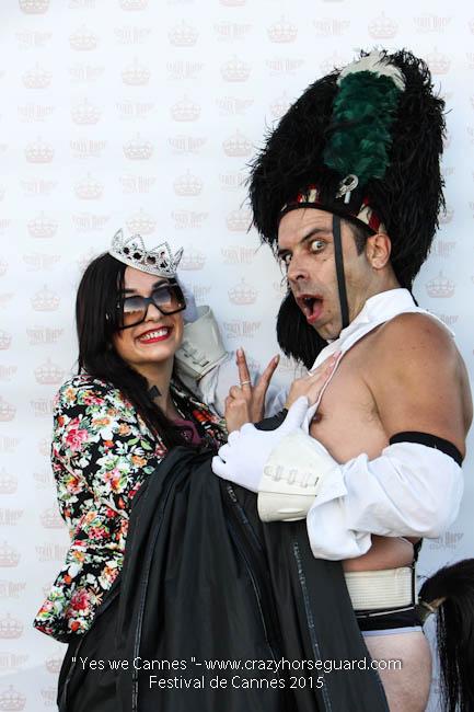 86 - Yes we Cannes - Festival de Cannes 2015 - Crazy Horse Guard - (c) Benjamin Dubuis 2015