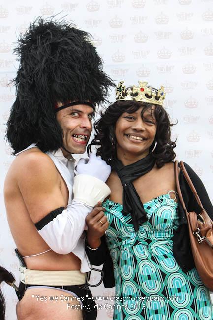 9 - Yes we Cannes - Festival de Cannes 2015 - Crazy Horse Guard - 19052015 (c) Benjamin Dubuis 2015
