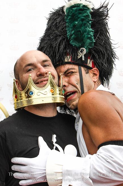 10 - The Crazy Horse Guard - Jours de Fête Bléré 2015 - 650px © Benjamin Dubuis 2015