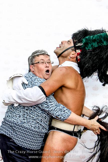 61 - The Crazy Horse Guard - Jours de Fête Bléré 2015 - 650px © Benjamin Dubuis 2015