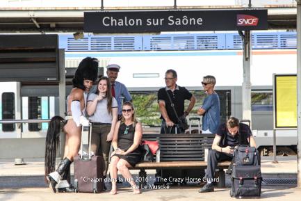 44 - Crazy Horse Guard in Chalon dans la Rue - Juillet 201 Cie Le Muscle 2016 - 1500 px