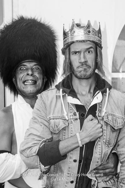20 - Les Accroche Coeurs - The Crazy Horse Guard Format HD - Cie Le Muscle 2017