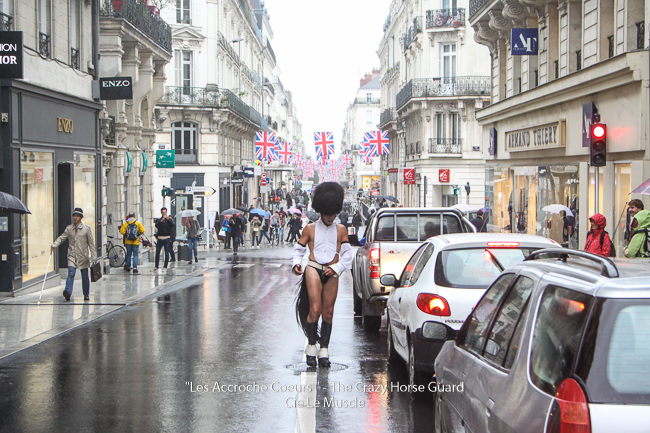 9 - Les Accroche Coeurs - The Crazy Horse Guard Format HD - Cie Le Muscle 2017